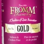 13oz. Fromm Gold Salmon/Chicken Pate