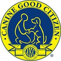 Canine Good Citizen Badge from the American Kennel Club (AKC)